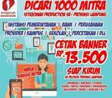 Cetak undangan, kaos, yasin, banner, pin, mug, majalah, nota, dll - Bandar Lampung Kota - Jasa