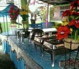 Seperangkat alat catering+meja+rimpel dan lain lain utk catering - Palembang Kota - Kantor & Industr