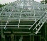 Pemasangan rangka atap baja ringan praktis tukang profesional - Solok Kota - Jasa