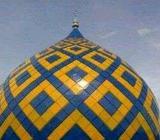 Pemasangan kubah masjid harga ekonomis, kerja cepat dan rapi - Solok Kota - Jasa