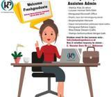 Lowongan Kerja Asisten Admin - Makassar Kota - Lowongan
