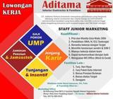 Dibutuhkan Staff Junior Marketing - Yogyakarta Kota - Lowongan