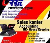 Loker Sales konter, accounting, House Keeping - Semarang Kota - Lowongan
