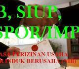 Urus TDP/Nib baru dan Perpanjang| Urus SIUP, buat UD, CV, PT - Medan Kota - Jasa