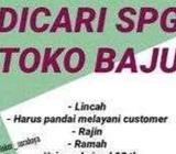 Dicari karyawan SPG toko part time - Semarang Kota - Lowongan
