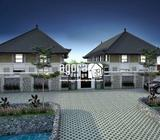 Jasa Arsitek Guest House Nyoman Lombok - Denpasar Kota - Jasa