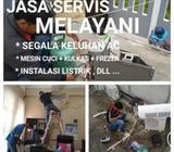 Jasa servis ac,instalasi listrik,mesin cuci,dll - Balikpapan Kota - Jasa