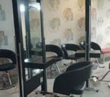 Meja cermin salon barber - Samarinda Kota - Kantor & Industri