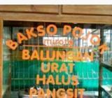 "Lowongan pekerjaan ""Bakso Balungan Pojok Mirota"" dpn Mirota jl.godean - Yogyakarta Kota -"