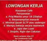 LOWONGAN KERJA Cafe di Mojosari - Mojokerto Kab. - Lowongan