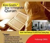 Dibutuhkan ustazah untuk membina rumah tahfiz di semarang timur - Semarang Kota - Lowongan
