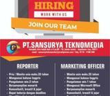 Reporter & Marketing - Batam Kota - Lowongan