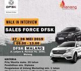 Loker sales force / sales counter - Malang Kota - Lowongan