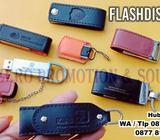 USB Flashdisk Kulit - USB Flashdisk Souvenir Promosi