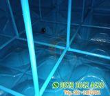 Jasa perbaikan tangki air fiber roof tank