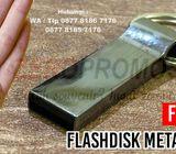 Souvenir USB Metal - Flashdisk Stainless Steel FDMT23 Termurah