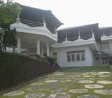 Villa 2Lt, Lahan Luas, Asri dan Sejuk, Akses Jl. Lebar, Cimacan, Cipanas, Cianjur