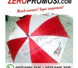Souvenir Payung Merah Putih Sablon - Merchandise Promosi Murah