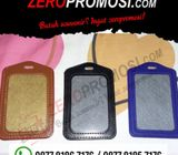 Souvenir Casing ID Card Kulit - ID Card Holder Leather