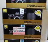 JUAL KAMERA Nikon D7200 Body MURAH BARU BM ORIGINAL