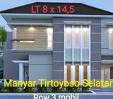 Rumah Baru Manyar Tirtoyoso Selatan