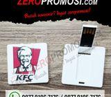 USB FLASHDISK Mini Bentuk Kartu Square - FDCD13