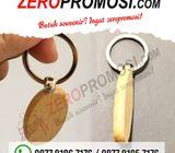 Souvenir Promosi Gantungan Kunci Kayu GK-K03 Termurah dan Berkualitas