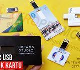 Flashdisk Kartu Custom - Souvenir Promosi Perusahaan Anda
