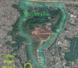 Tanah perumahan bagus 400m2, komplek RRI, dekat UII & Jl. Raya Bogor, Depok.