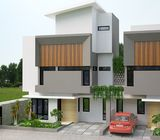 Rumah indent, 2 lantai, one gate system, di bintaro
