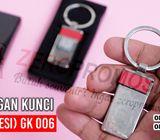 Barang Promosi Gantungan kunci Metal (Besi) GK 006 Murah dan Berkualitas