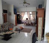 Rumah di Gandul, 1Lt, Semi Furnish, Lingk. Nyaman di Al Akhyar, Gandul, Cinere