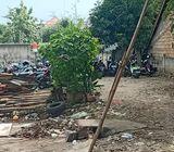 Tanah Luas 1100M2, Cocok untuk hunian / usaha di pinggir jalan Gandul
