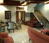 Rumah di Cinere, 2Lt, Full Furnish, Siap Huni, Non Cluster di Andara, Akses TOL Andara