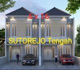 Rumah dijual Sutorejo Tengah
