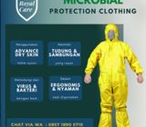RoyalCare - APD, Hazmat, Coverall dari Bahan Anti Air