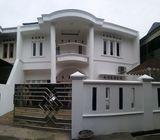 Rumah di jagakarsa, 2Lt, Mewah, Semi Fun, Balkon dan Gazebo, Kav di Jl. Joe