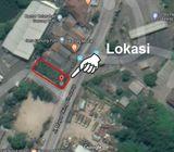 Tanah di Gunung Putri, SHM, Komersial, Lok. Strategis, Pinggir Jl. Raya dkt Pintu TOL Gunung Putri