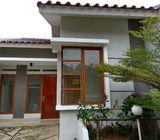Rumah Disewakan Di Limo, 1Lt, Unit Pojok dlm Private Townhouse di Meruyung