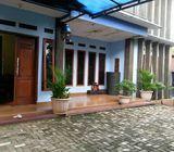 Rumah Dijual Di Rangkapan Jaya, 2Lt, Hoek, Pool, Gazebo, di Meruyung, 3Km ke TOL Sawangan