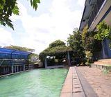 Rumah di Rangkapan Jaya 2Lt, Hoek, Pool, Gazebo, Meruyung