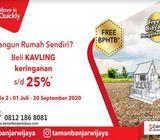 Move In Quickly KAVLING Murah Banjar Wijaya Tangerang