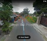 Tanah Pinggir Jalan Dewi Madri Renon