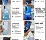 Dijual Handphone Baru Merek Oppo