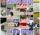 Service ac cctv turen kulkas mesin cuci gas medis nursecall