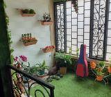 Rumah Dijual Di Tapos, 2Lt, Full Renoved, Semi Furn, dlm Prmhn Jatijajar