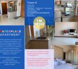 Apartemen WaterPlace Pakuwon indah Surabaya - 3 BR Luas 85m².