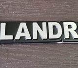 Emblem Metal Belakang LandRover.16x3