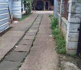 Dijual murah 300 m2 Kalibaru depok