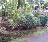 Tanah kavlingan 120 m2 dalam perumahan di Depok